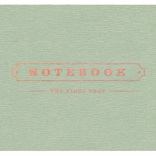 Park Kyung (Block B) - 1st Mini Album Notebook
