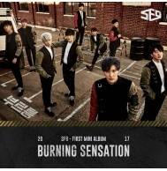 SF9 - 1st Mini Album: Burning Sensation CD