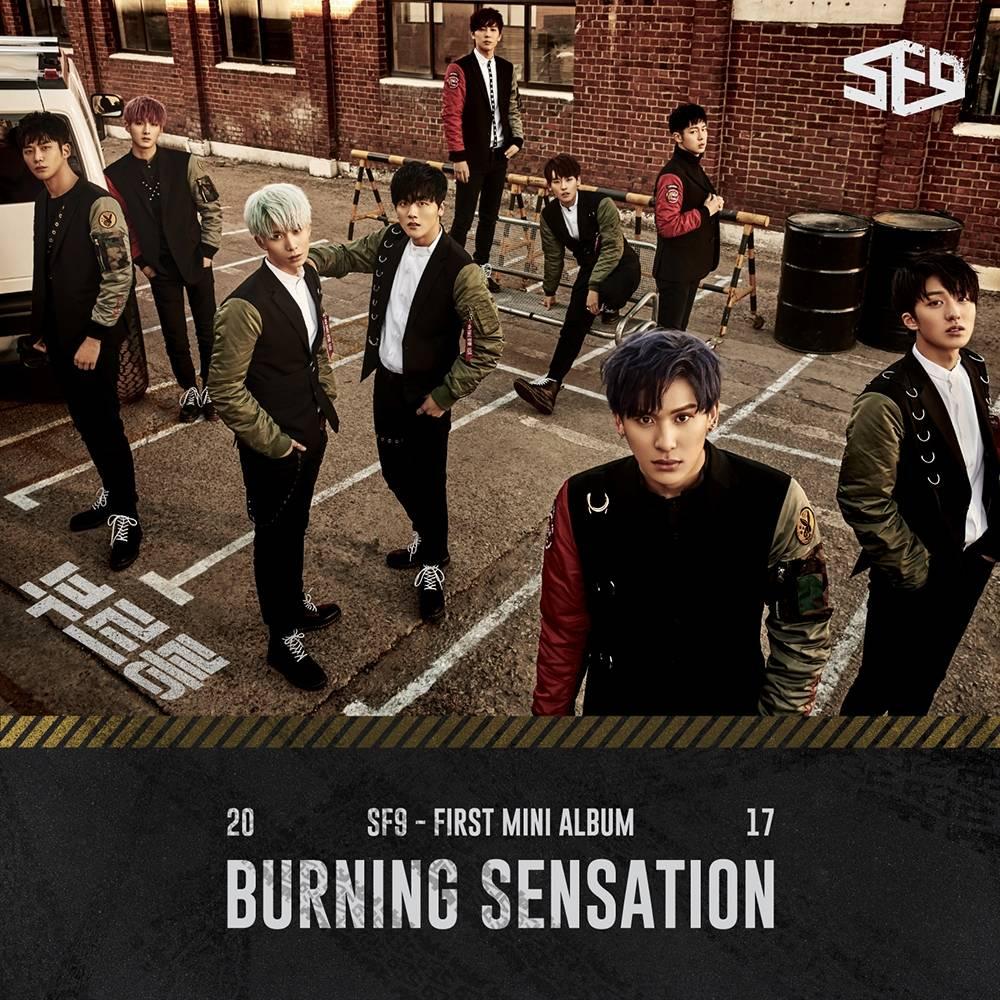 SF9 - 1st Mini Album: Burning Sensation CD