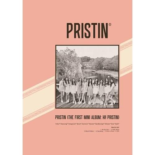 Pristin - 1st Mini Album: Hi! Pristin CD (Version B ELASTIN)