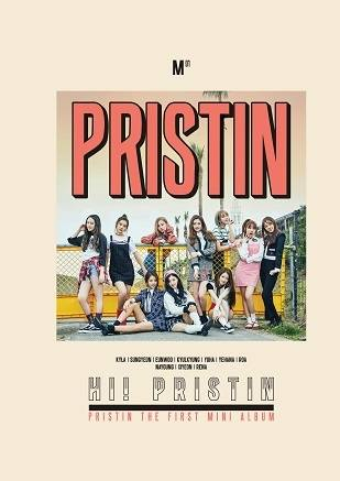 Pristin - 1st Mini Album: Hi! Pristin CD (Version A PRISMATIC)