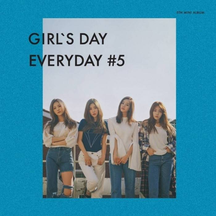 Girl's Day - 5th Mini Album Everyday 5