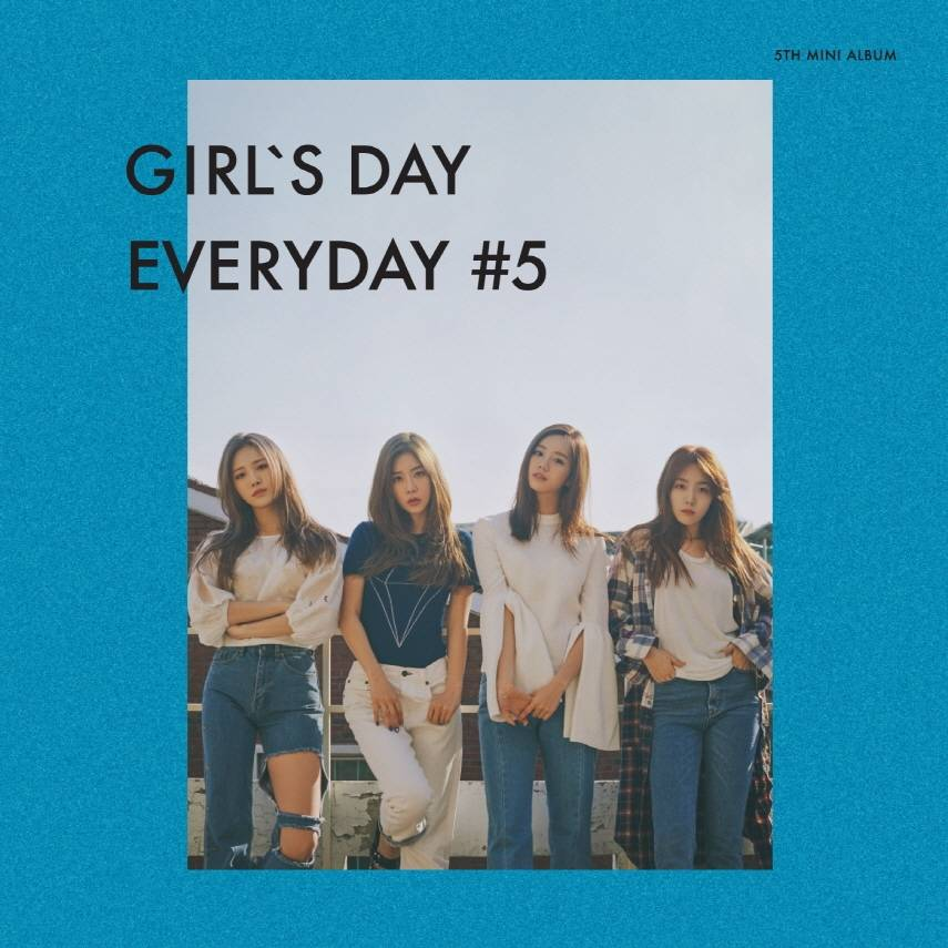 Girl's Day - 5th Mini Album: Everyday 5 CD