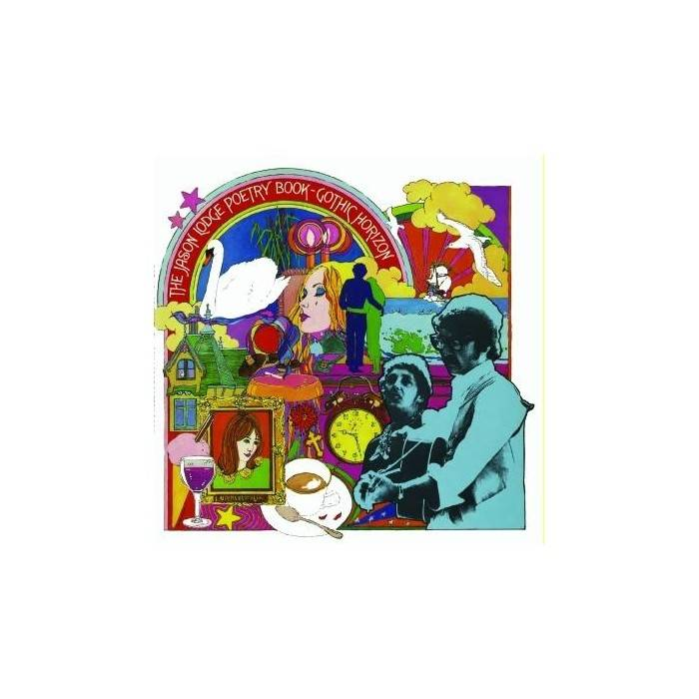 Gothic Horizon - The Jason Lodge Poetry Book Mini LP CD