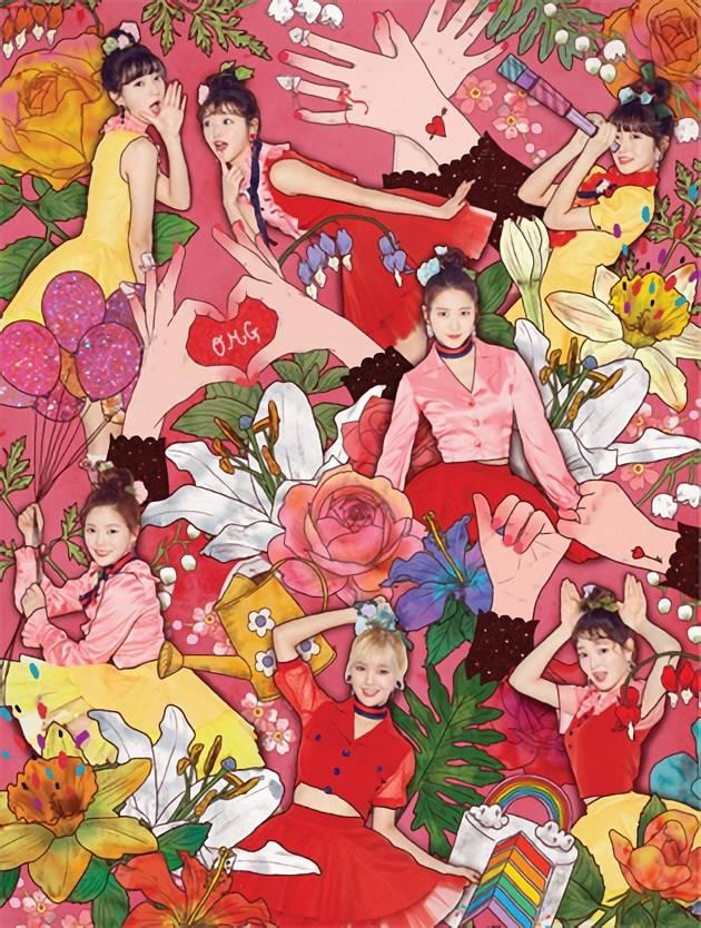 Oh My Girl - 4th Mini Album: Coloring Book CD