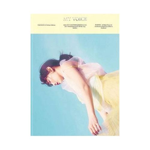 Taeyeon - 1st Album My Voice Deluxe Edition (Random Ver.)