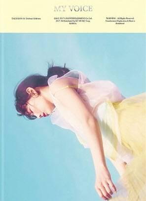Taeyeon - 1st Album: My Voice Deluxe Edition CD (Sky Ver.)