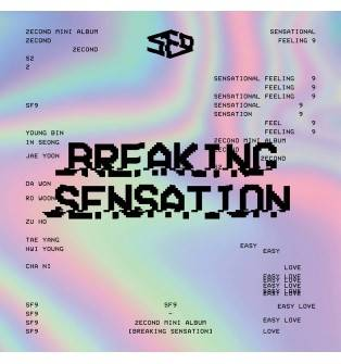 SF9 - 2nd Mini Album: Breaking Sensation CD