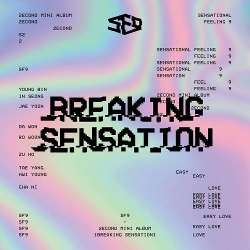 SF9 - 2nd Mini Album Breaking Sensation