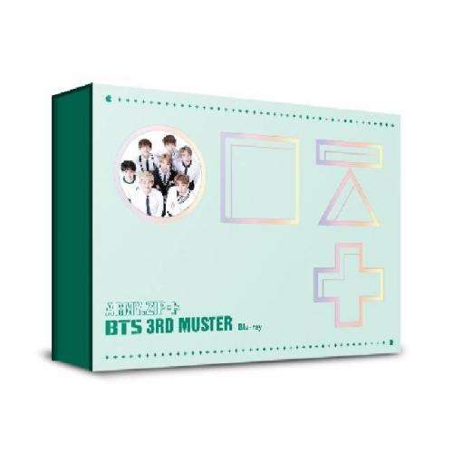 BTS - BTS 3rd MUSTER [ARMY.ZIP] Blu-ray Disc (Corner Damaged)