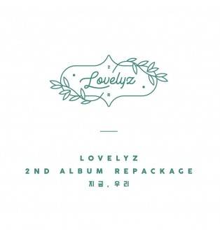 Lovelyz - 2nd Album Repackage: Now, Us CD