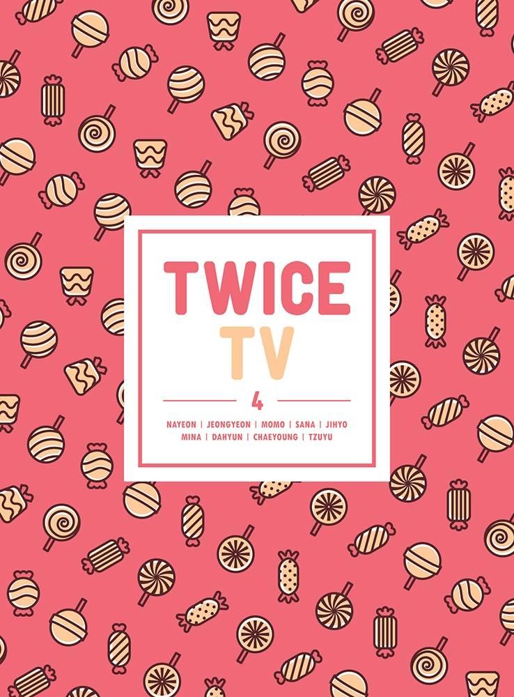 TWICE - TWICE TV4 DVD