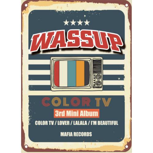 Wassup - 3rd Mini Album Color TV