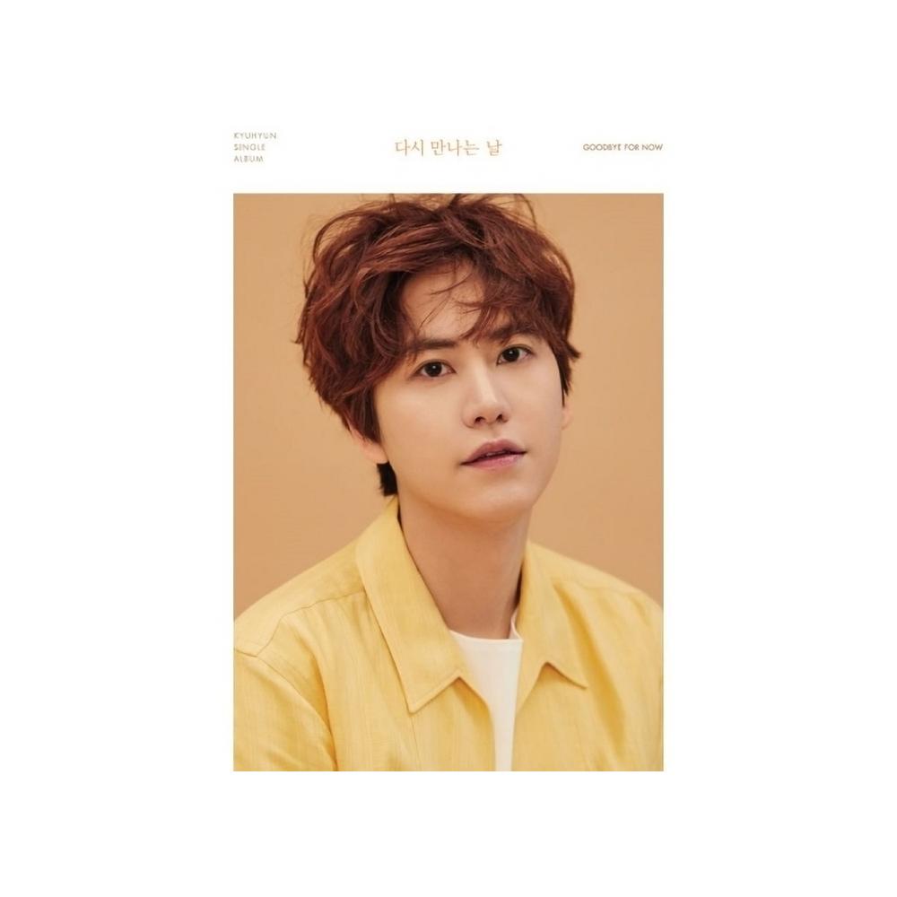 Kyuhyun (Super Junior) - 2nd Single Album Goodbye For Now
