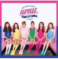 April - 2nd Single: Mayday CD