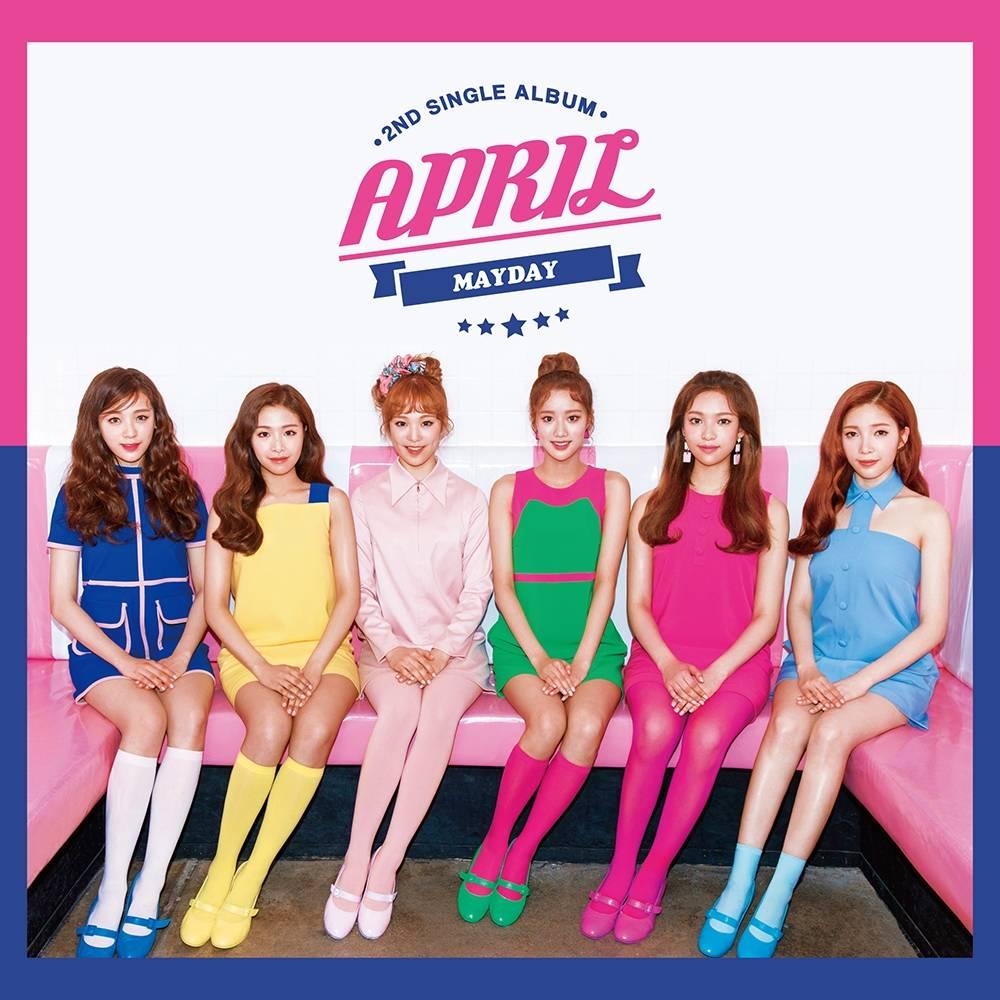 April - 2nd Single: Mayday CD