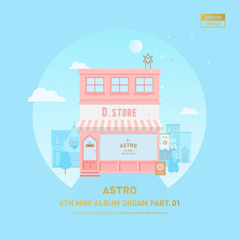 Astro - 4th Mini Album: Dream Part. 01 CD (Day Version)
