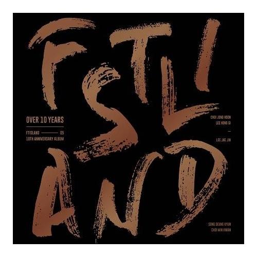 FTISLAND - 10th Anniversary Album Over 10 Years