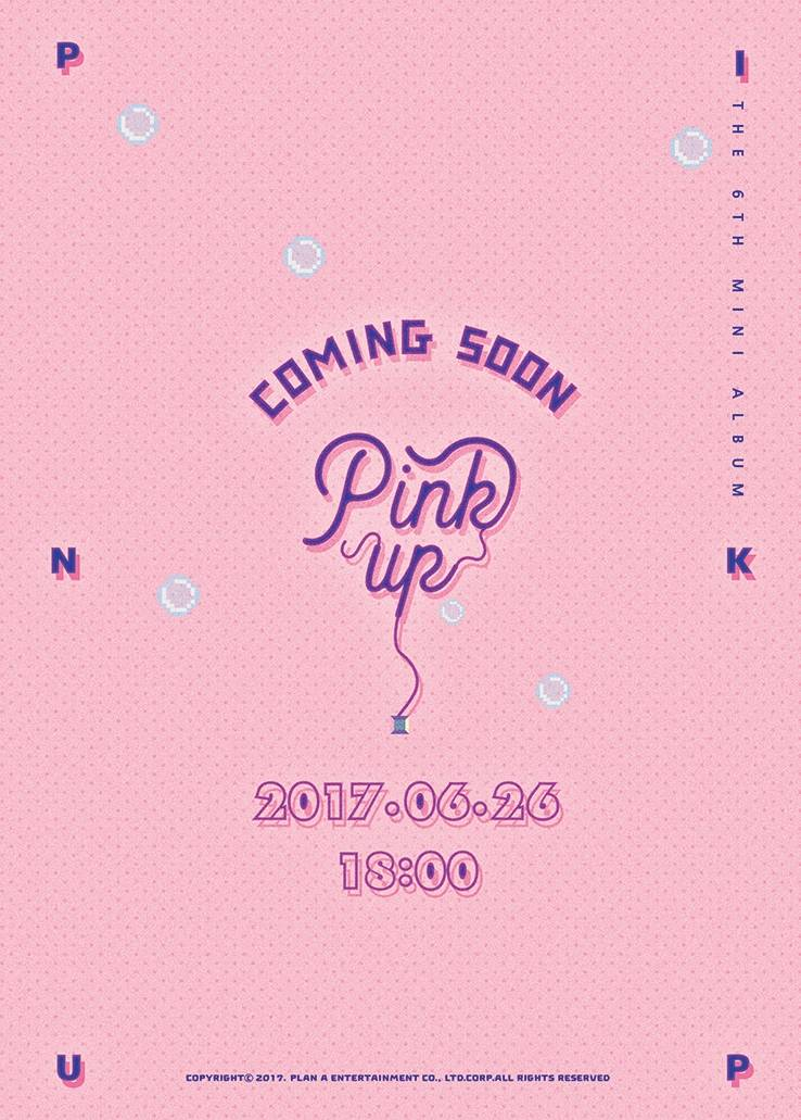 Apink - 6th Mini Album: Pink Up CD (Version A)