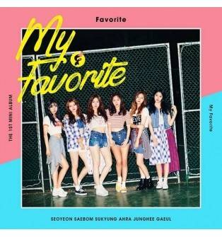 Favorite - 1st Mini Album: My Favorite CD