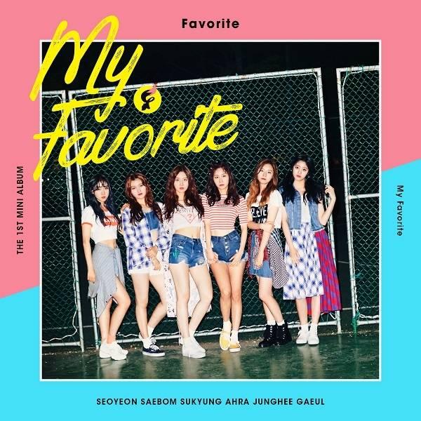 Favorite - 1st Mini Album: My Favorite CD