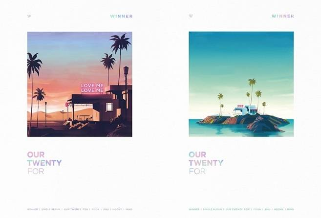 WINNER - Single Album: Our Twenty For CD