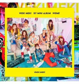 Weki Meki - 1st Mini Album: WEME CD