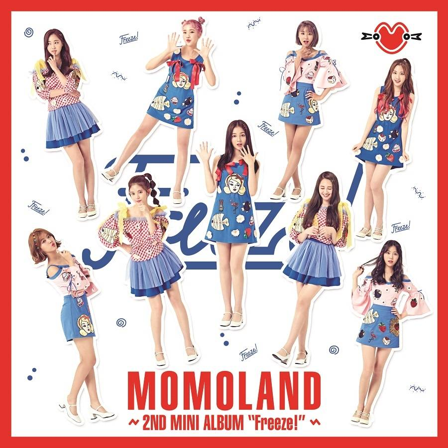 Momoland - 2nd Mini Album: Freeze! CD