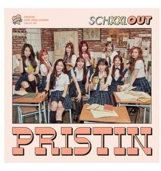 Pristin - 2nd Mini Album: SCHXXL OUT CD (In Version)