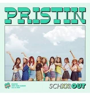 Pristin - 2nd Mini Album: SCHXXL OUT CD (Out Version)