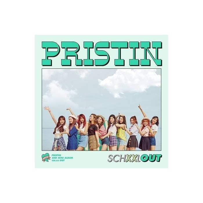 Pristin - 2nd Mini Album SCHXXL OUT (Out Ver.)