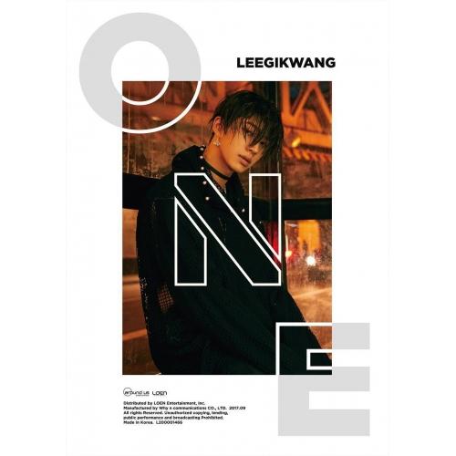 Lee Gikwang - 1st Mini Album: ONE CD