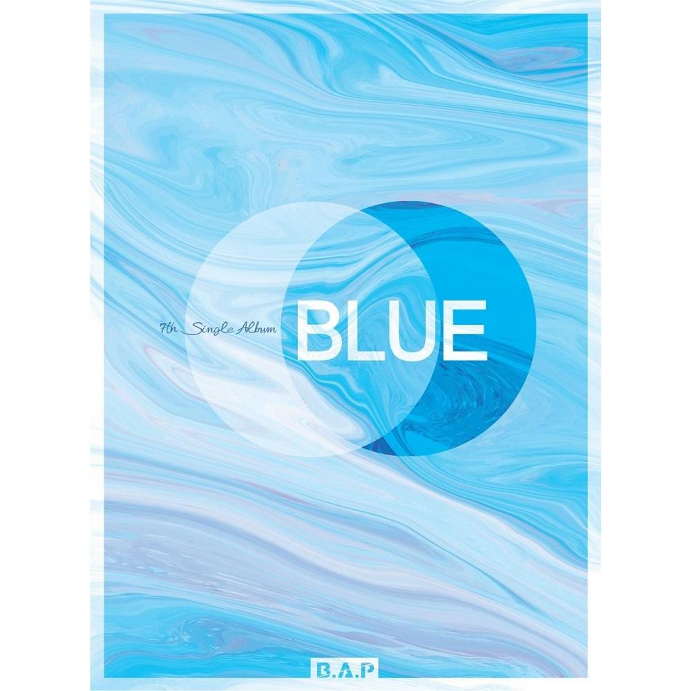 B.A.P - 7th Single Album BLUE (Ver. A)