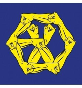 EXO - 4th Album Repackage The War: The Power of Music CD (Korean Ver.)