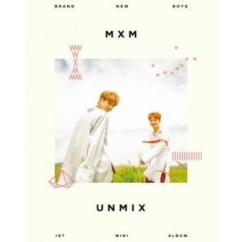 MXM (Brand New Boys) - 1st Mini Album: UNMIX CD