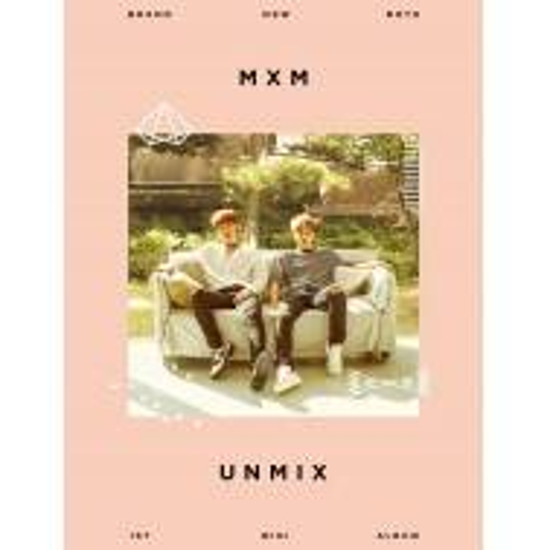 MXM (Brand New Boys) - 1st Mini Album UNMIX