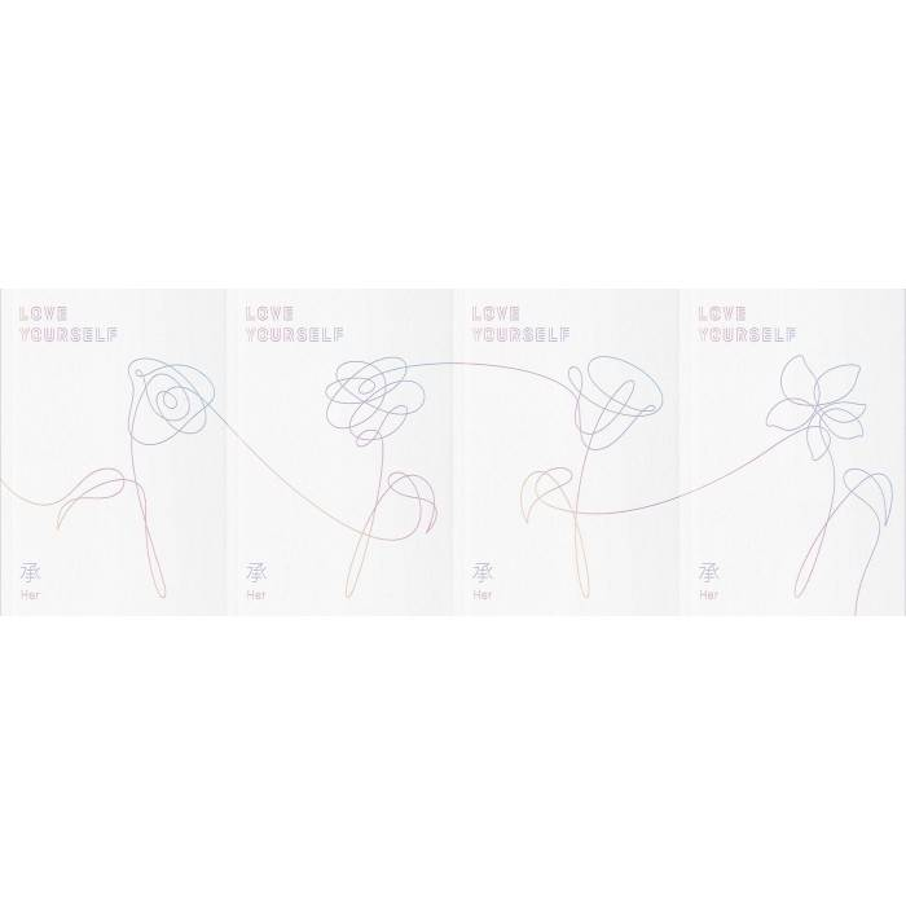 BTS - 5th Mini Album Love Yourself 承 [Her] (Ver. L)