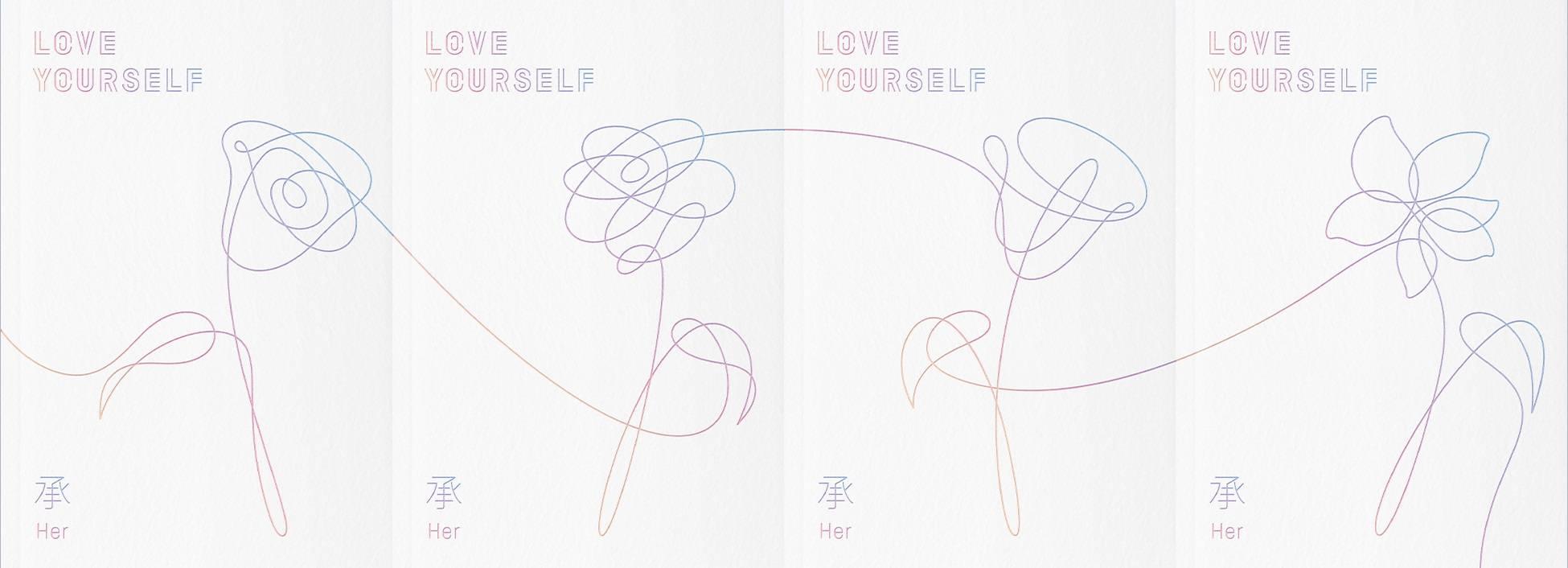 BTS - 5th Mini Album: Love Yourself 承 [Her] CD (Ver. L)