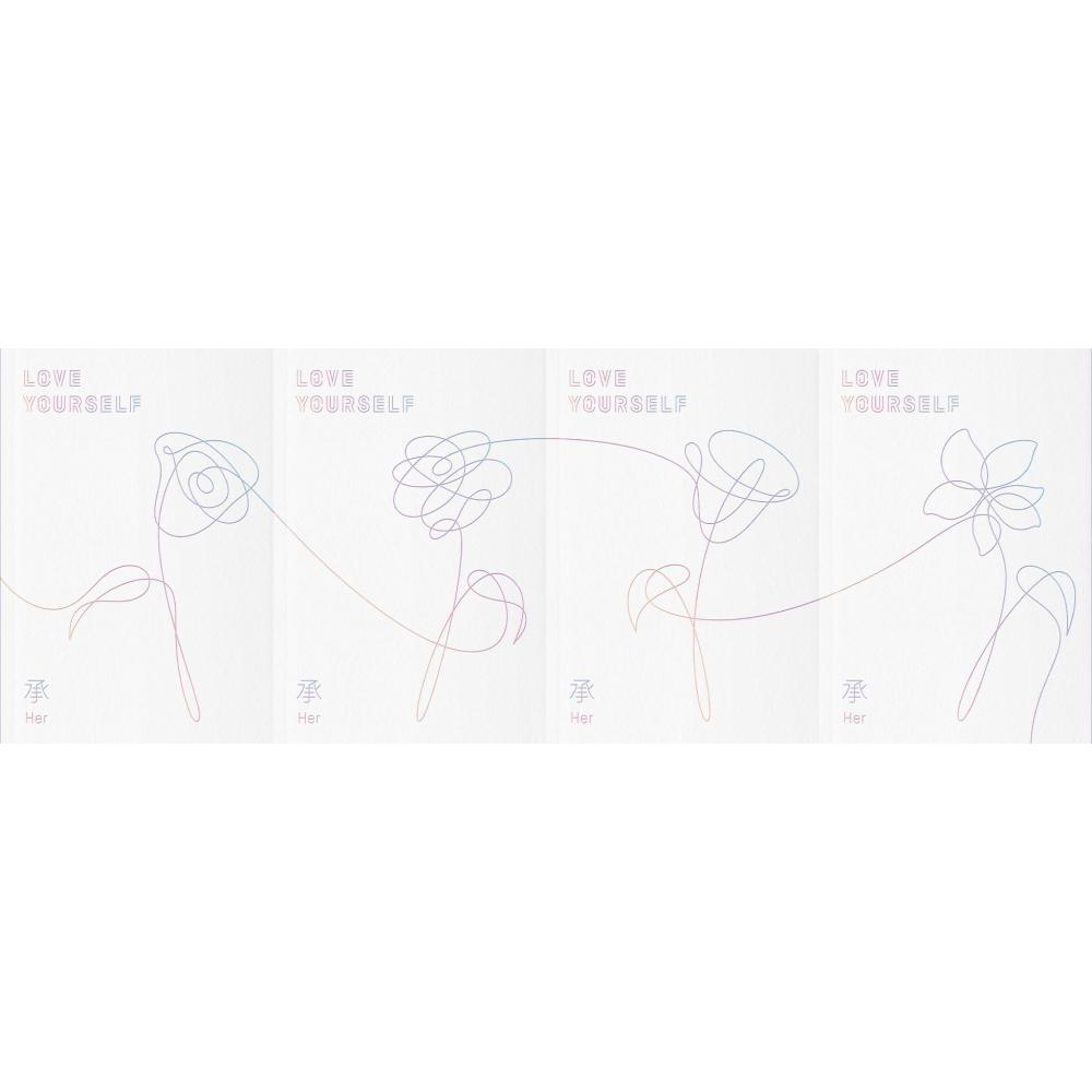BTS - 5th Mini Album Love Yourself 承 [Her] (Ver. O)
