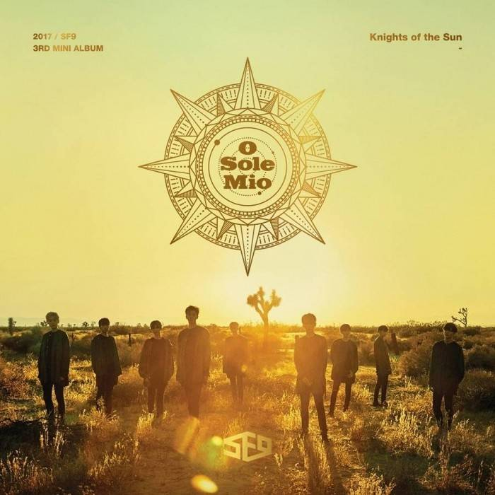 SF9 - 3rd Mini Album Knights of the Sun