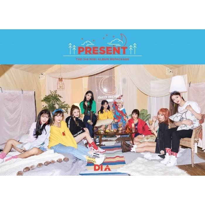 DIA - 3rd Album Repackage Present (Good Evening Ver.)