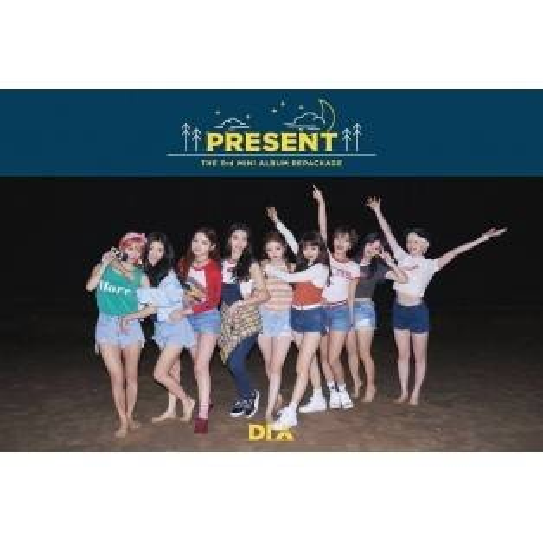 DIA - 3rd Mini Album Repackage Present (Good Night Ver.)