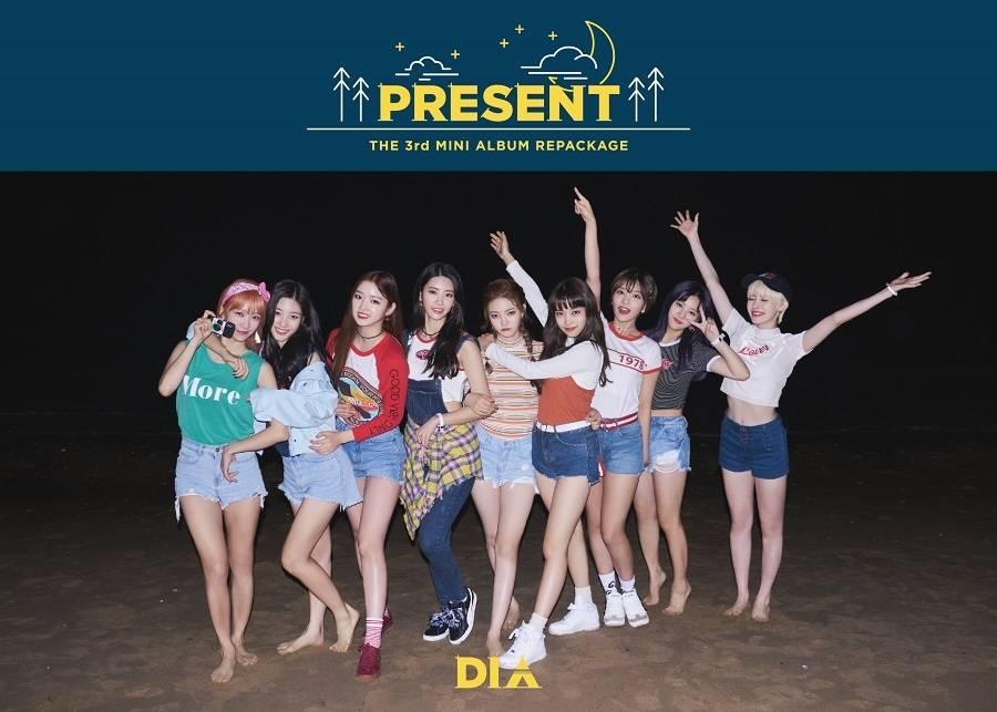 DIA - 3rd Mini Album Repackage: Present CD (Good Night Ver.)