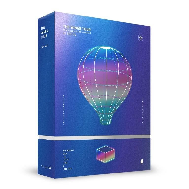 BTS - 2017 BTS Live Trilogy EPISODE III THE WINGS TOUR in Seoul CONCERT DVD