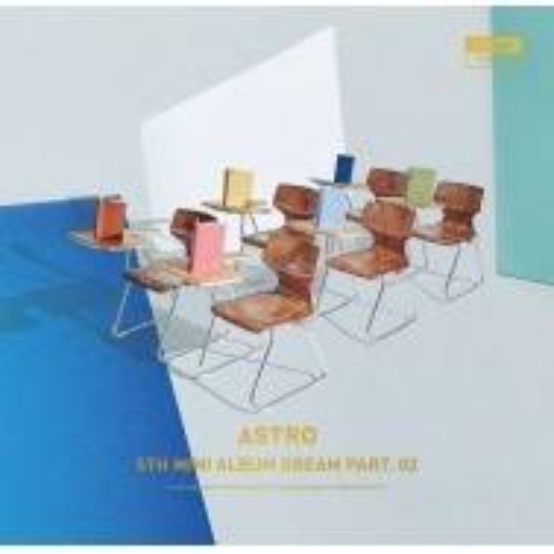 Astro - 5th Mini Album: Dream Part. 02 Baram CD (Wish Ver.)