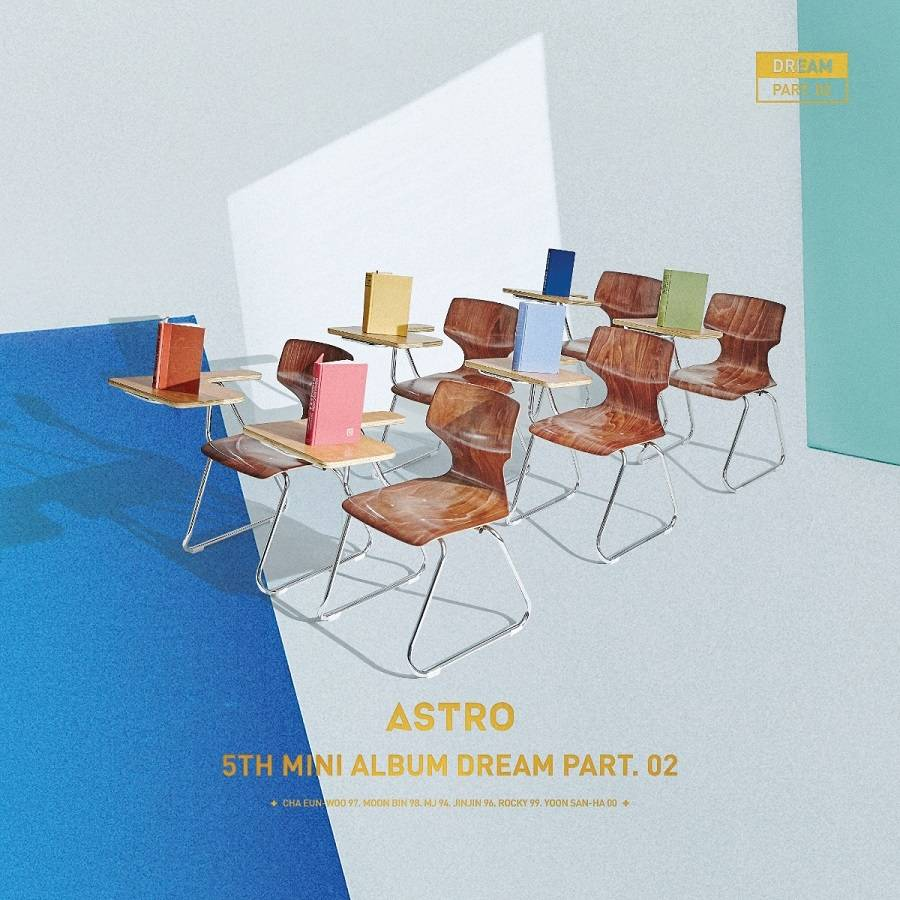 Astro - 5th Mini Album: Dream Part. 02 Baram CD (Wish Ver.)
