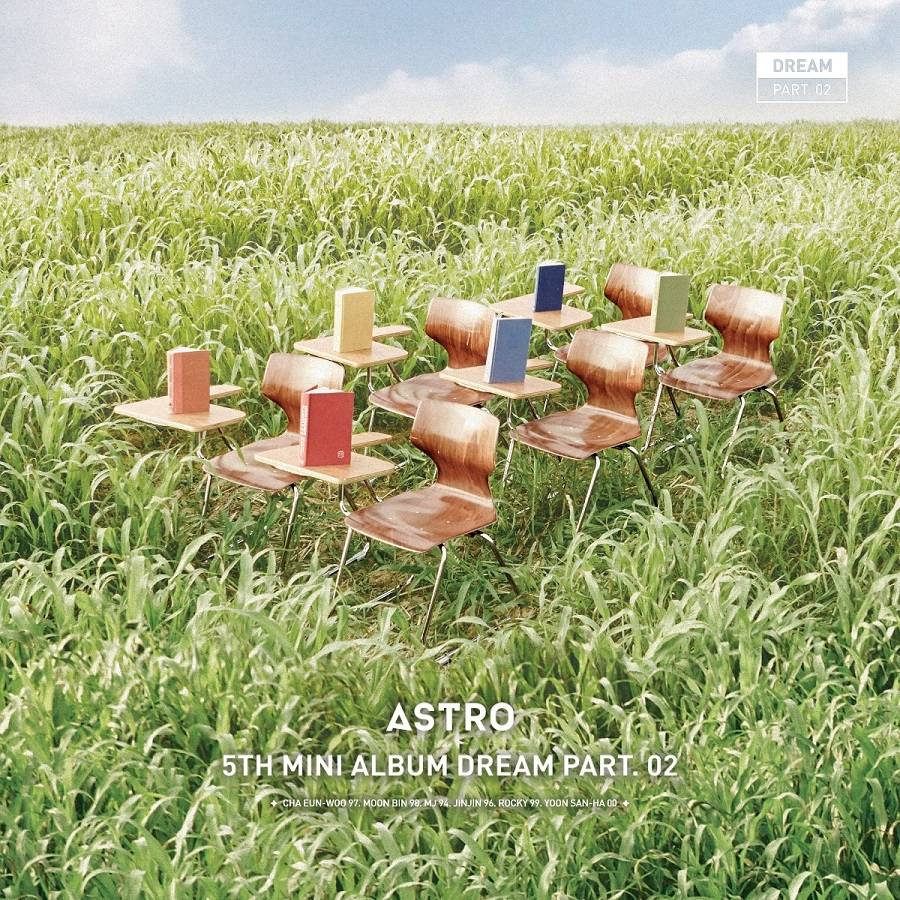 Astro - 5th Mini Album: Dream Part. 02 Baram CD (Wind Ver.)