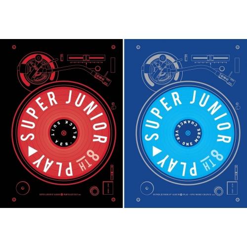 Super Junior - 8th Album: Play CD (Black Suit Version)