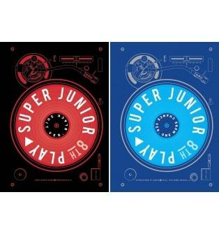 Super Junior - 8th Album: Play CD (One More Chance Version)