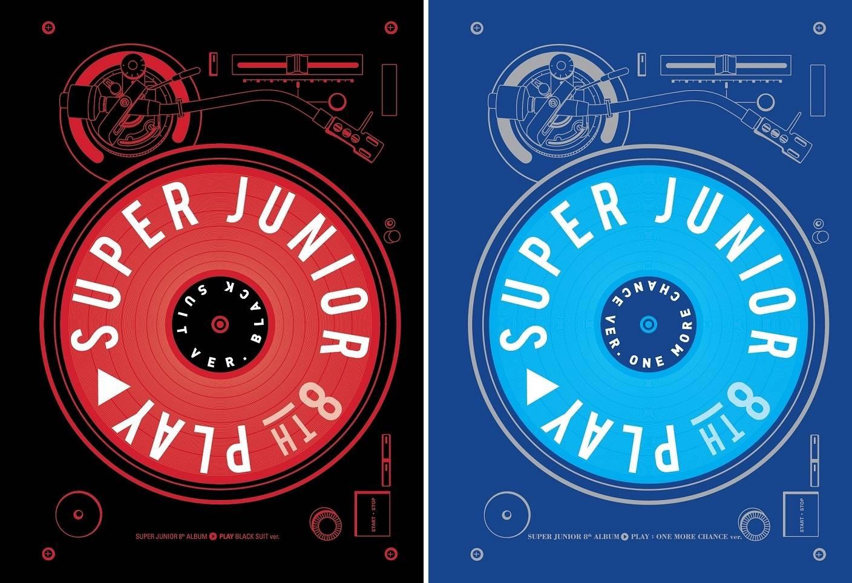 Super Junior - 8th Album: Play CD (One More Chance Version)